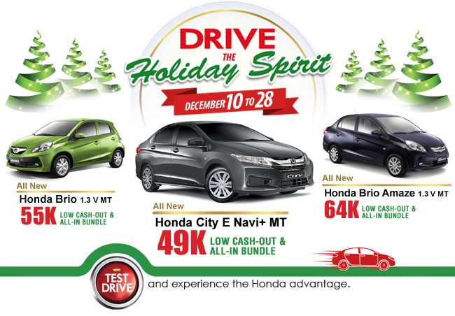 Drive The Holiday Spirit
